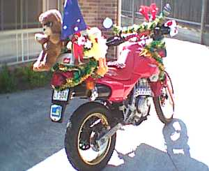 OzDOM #40 dressed for local Toy Run, 2001